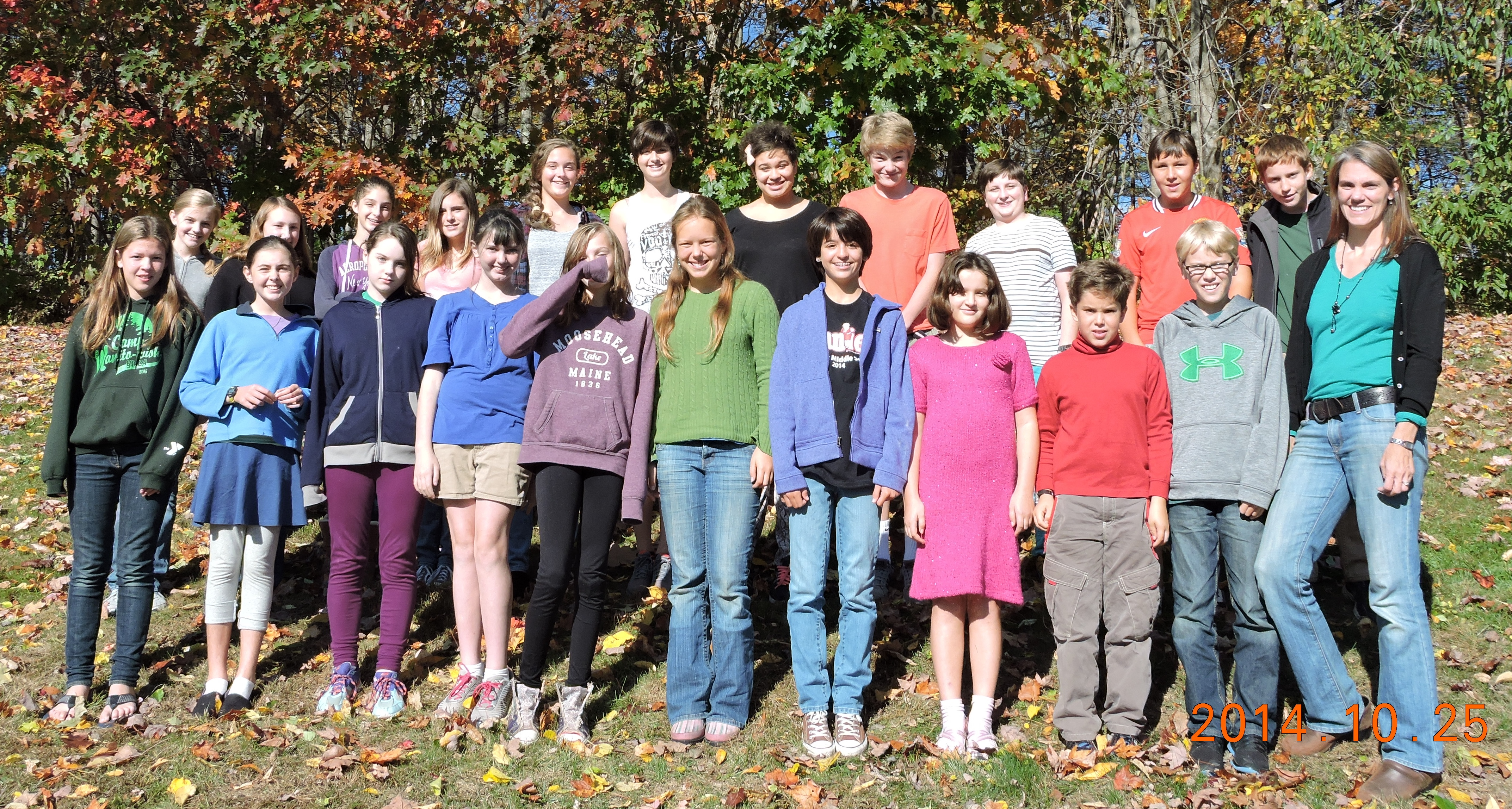 Kennebec Singers Fall 2014